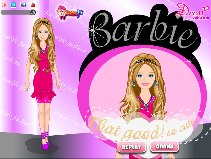 Barbie Dress up Games 30