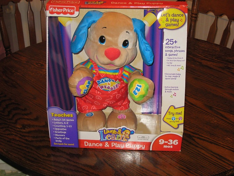 FISHER PRICE laugh and learn dance and play puppy ...