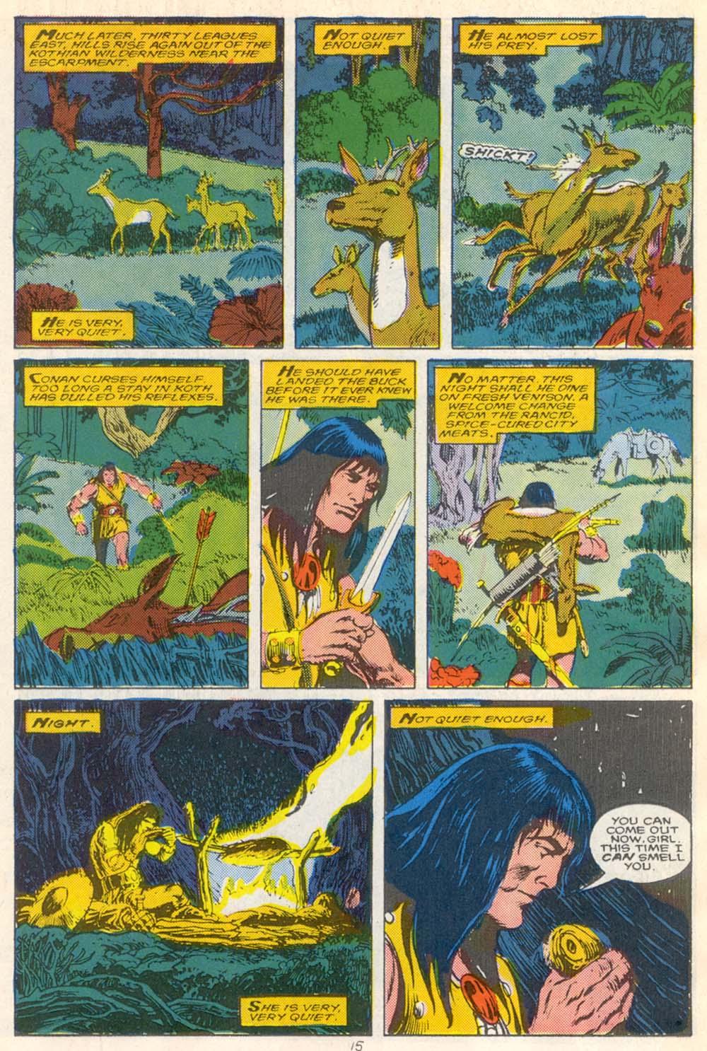 Conan the Barbarian (1970) Issue #210 #222 - English 12