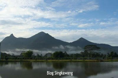 gunung poteng kota singkawang