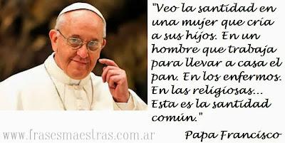 frases de Papa Francisco