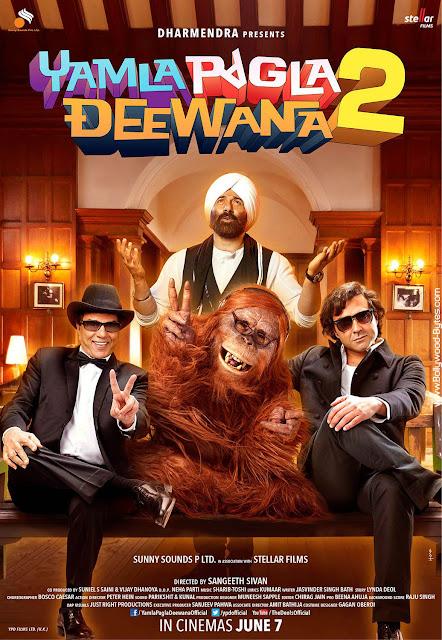 First Look Poster 1 - Yamla Pagla Deewana 2