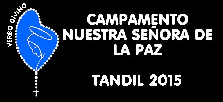 CAMPAMENTO TANDIL 2015