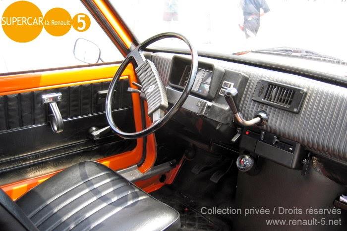 Blog tout sur la renault 5 int rieur de renault 5 l for Renault super 5 interieur