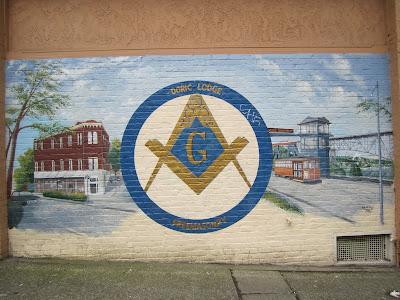 Doric Lodge 92 Fremont Mural