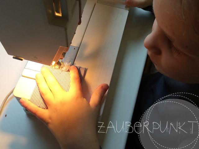 Taschenspiegel mit Hülle, DIY mit Kinder