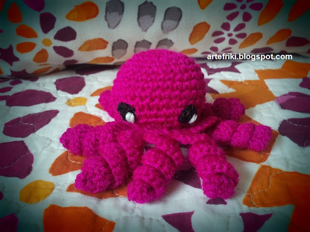 pulpo amigurumi crochet ganchillo octopus