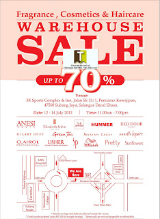 Fragrance, Cosmetics & Haircare Warehouse Sale 2012