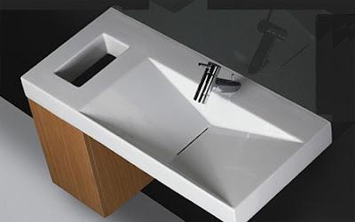 Modernos dise os de lavabos de ba o ba os y muebles - Lavabos de diseno ...
