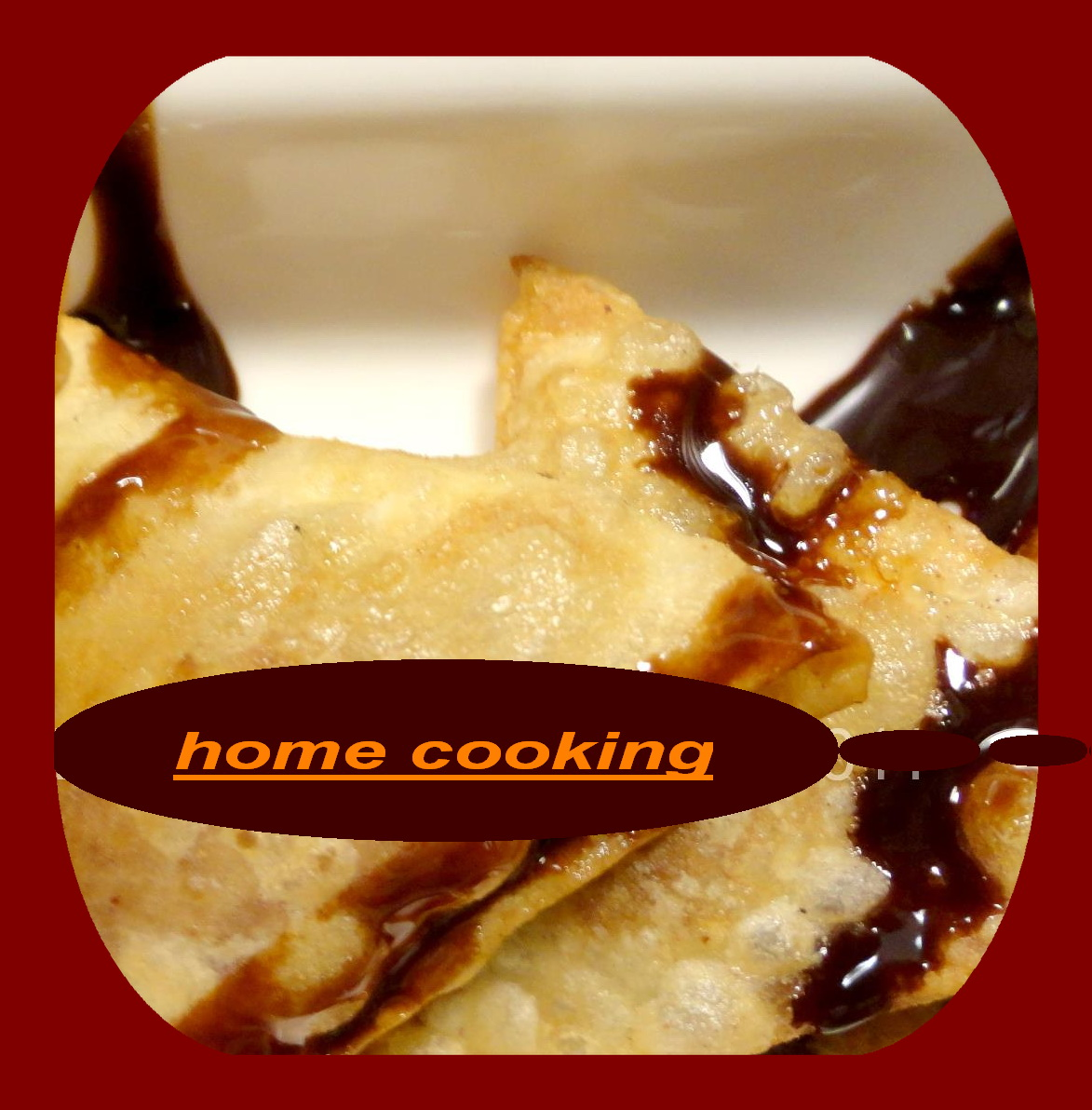 Chocolate Wontons | Home cooking