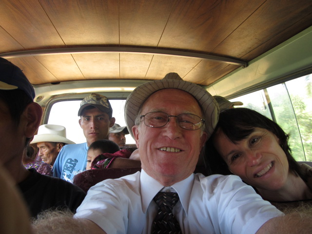 this is the way we ride the van...