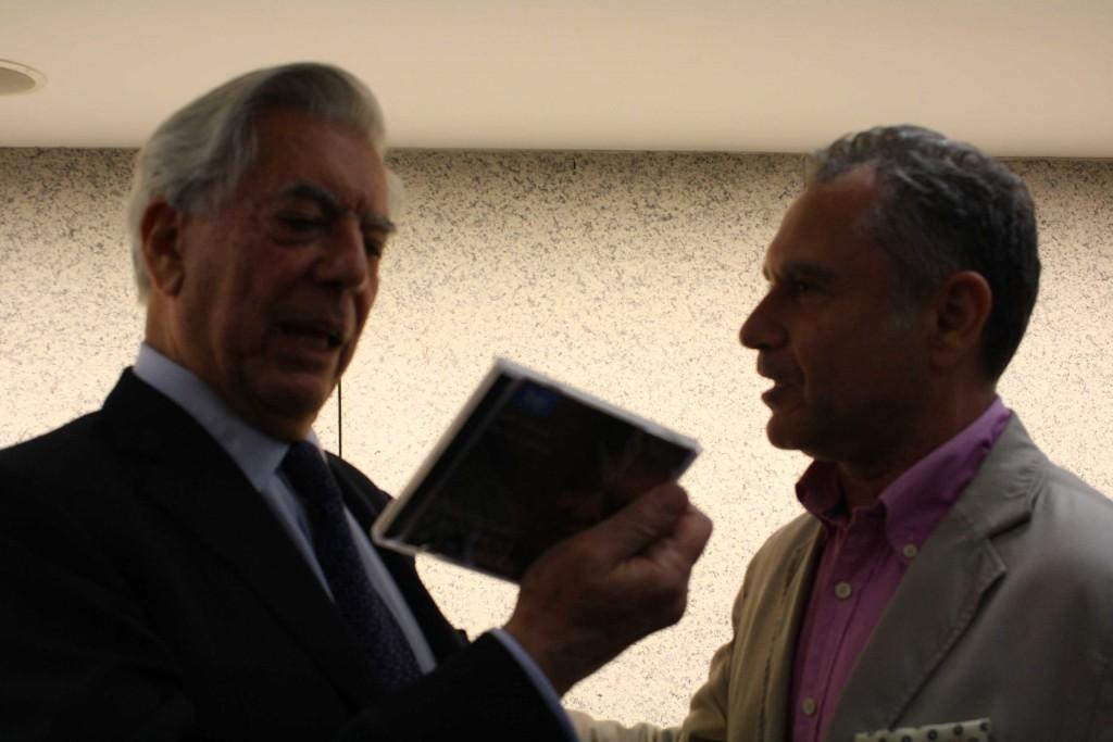 Vargas Llosa en nuestra librería