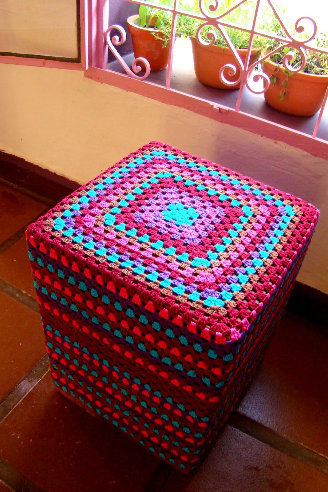 ana sinhana: Modo de fazer: capa de granny square #07BBC4 1067x1600