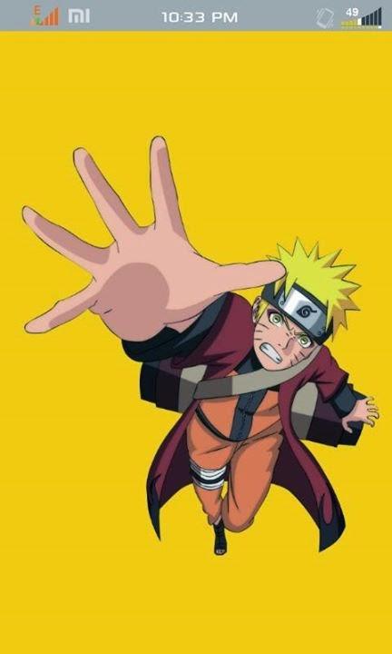 Facebook Mod Anime Naruto apk Mantap