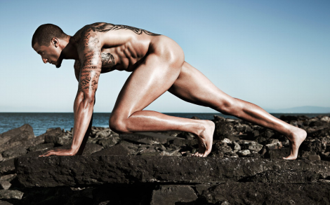 Colin Kaepernick naked in ESPN 2013 Body Issue