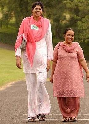 Amazing Information: Tall Ladies