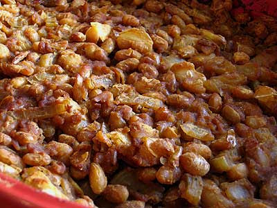 Almost Old-Fashioned Baked Beans