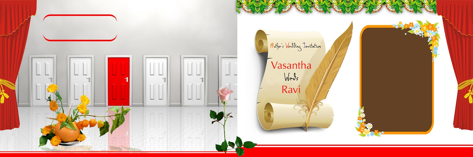Digital banner design for psd files - 12x36_wedding_album_design_templates 12x36_wedding_album_design_templates