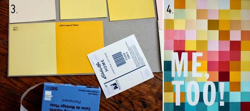 La reines blog basteln mit farbkarten bunter rahmen f r for Farbkarten kostenlos
