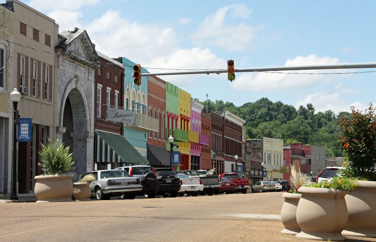 Main Street, Yazoo City, MS