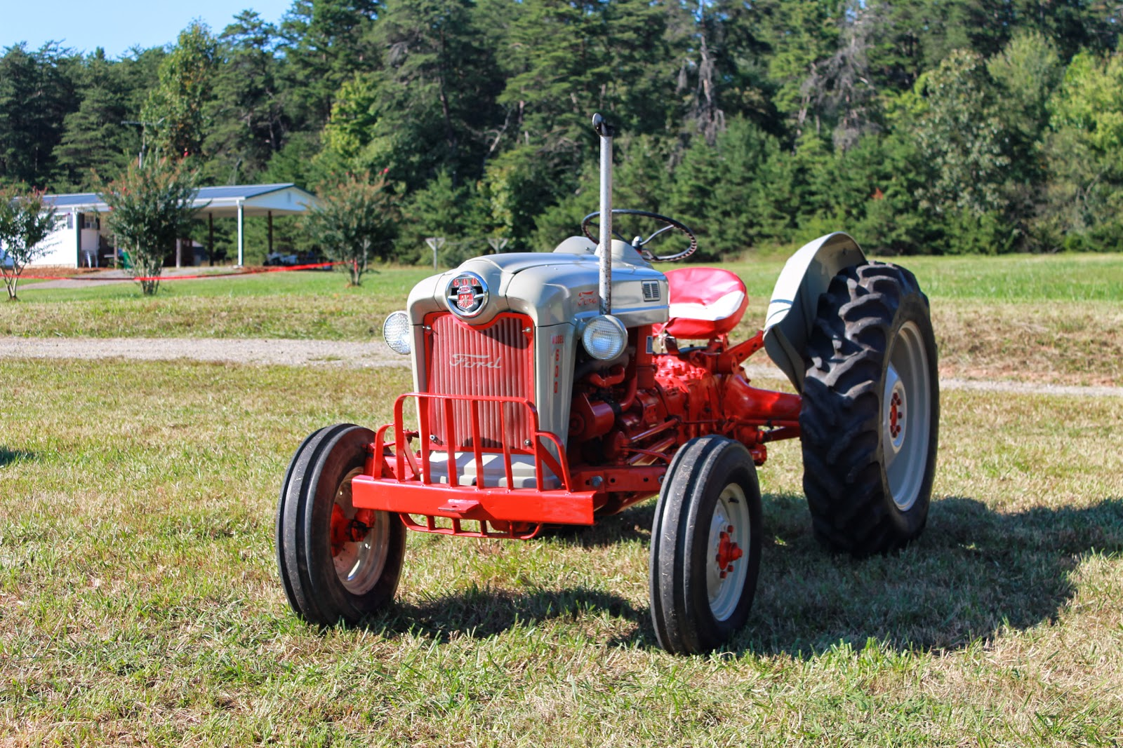 Ford 800 Tractor : Wiring diagram ford tractor the
