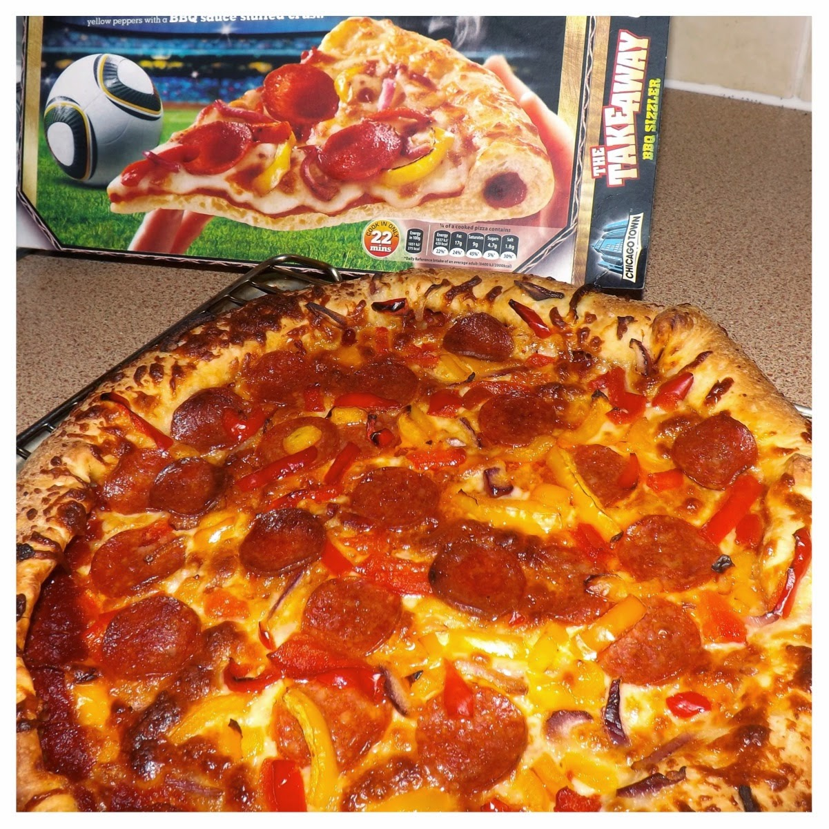 chicago town pizza cooking instructions