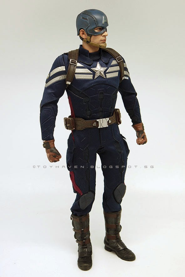 1//6 Scale Toy Captain America Tactical Shoulder Harness