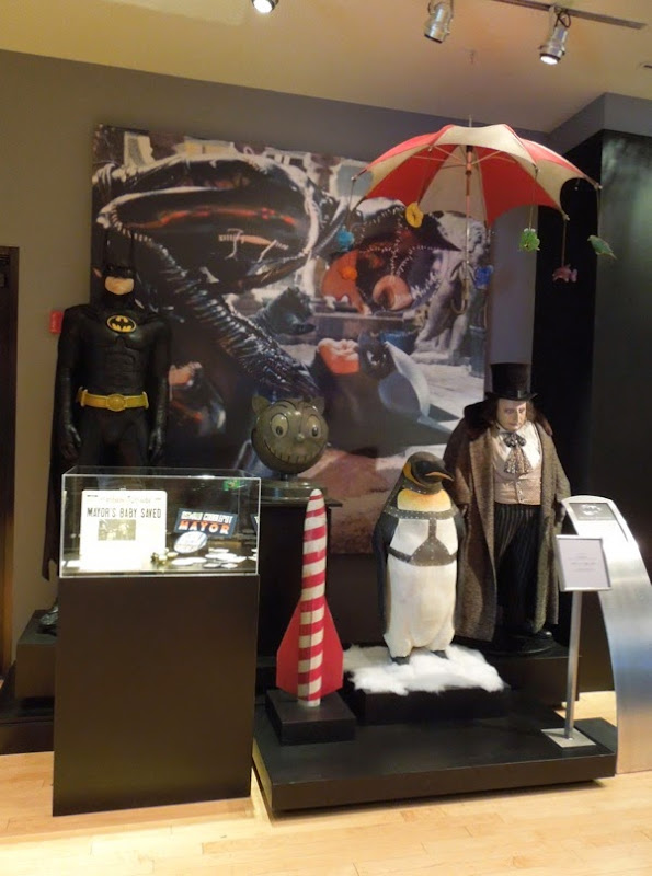 Original Batman Returns costumes movie props