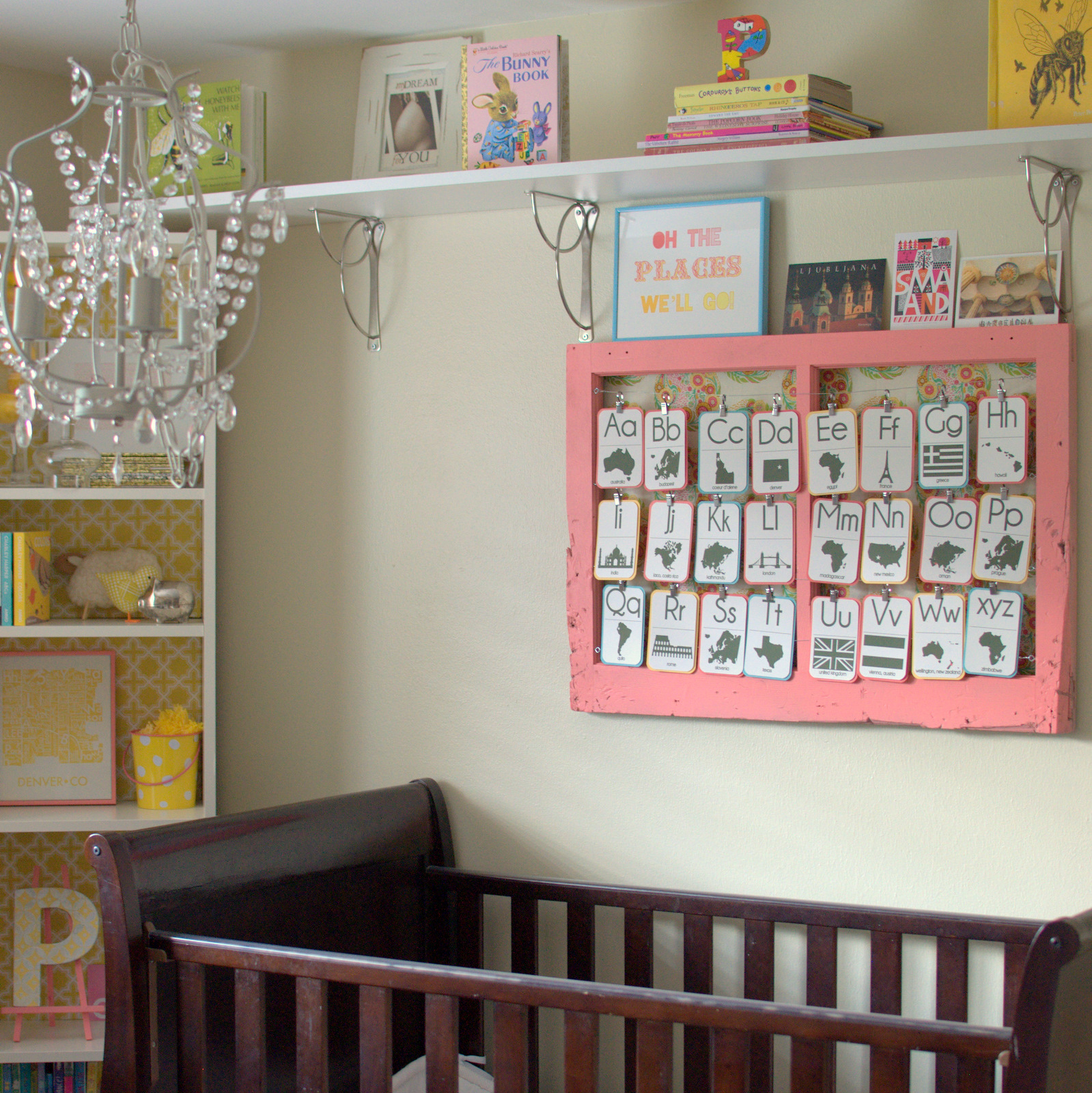 Diy nursery decor ideas for Above the crib decoration ideas