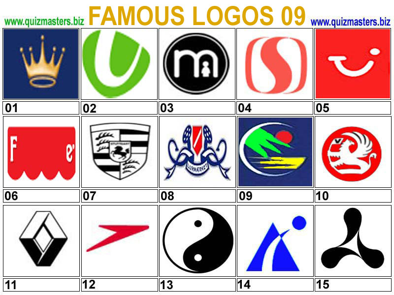 logo designs famous logos part 1
