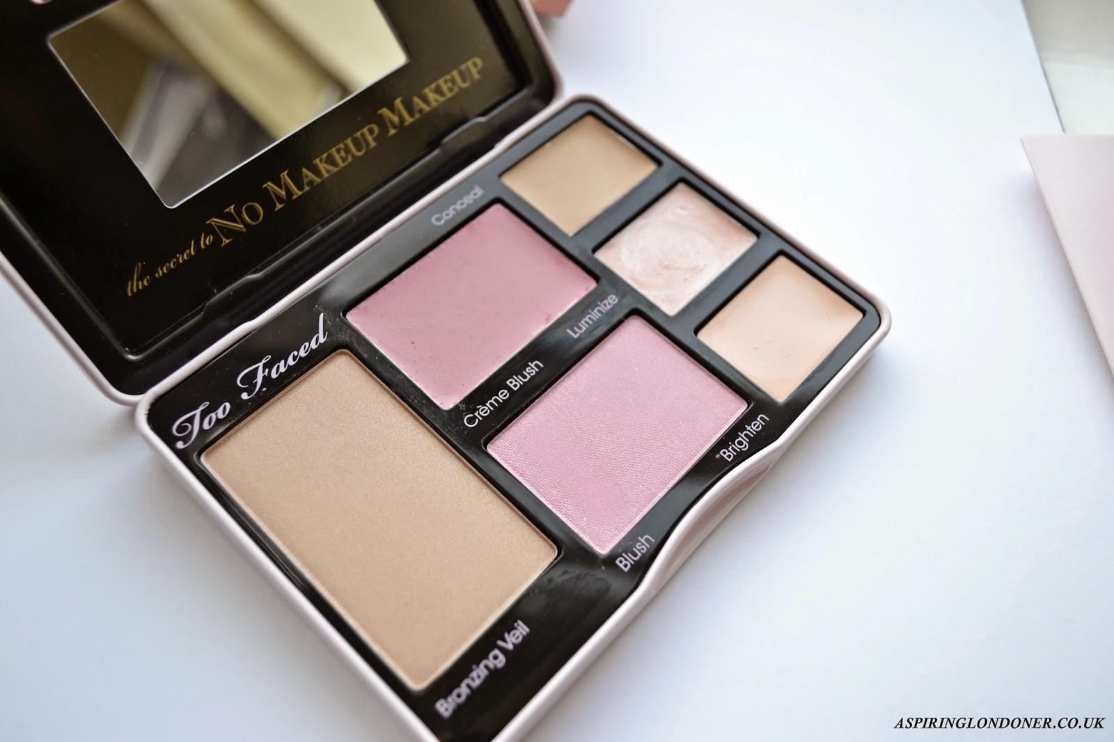 Too Faced No Makeup Makeup Palette Review - Aspiring Londoner