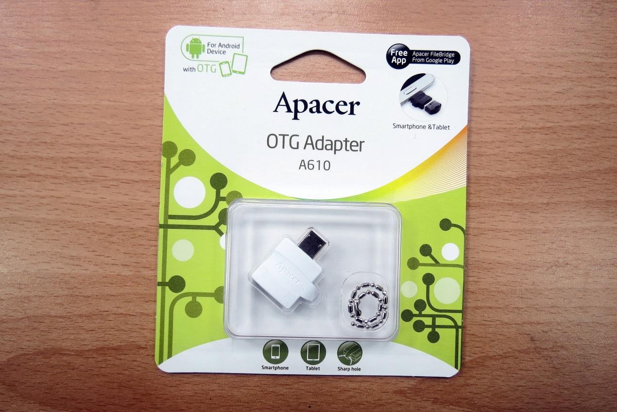Apacer A610 OTG Adaptor