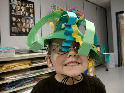 Book Review: Mr. Zinger's Hat. Making your own hat.