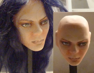 muñeco de porcelana articulado personalizado a pedido