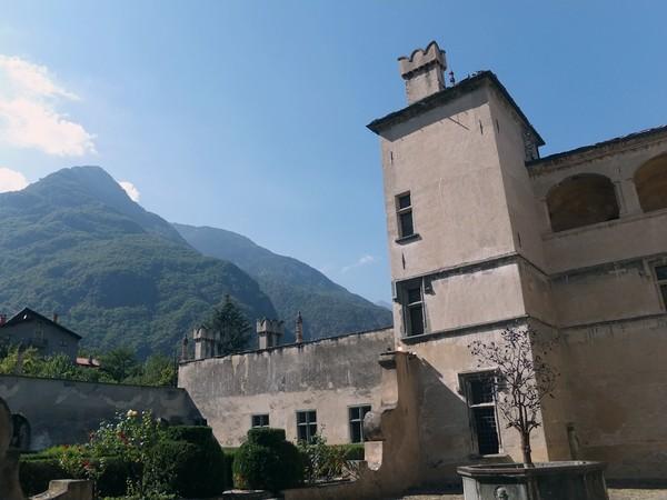Italie Aoste Aosta château issogne