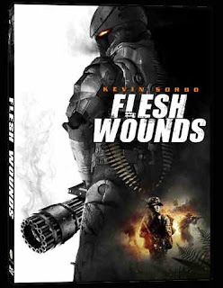 Flesh Wounds 2011 Hindi dubbed movie poster