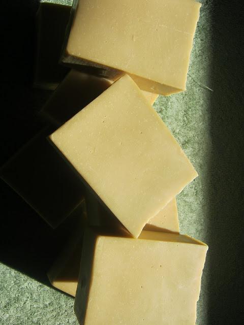 Detalle jabón de laurel