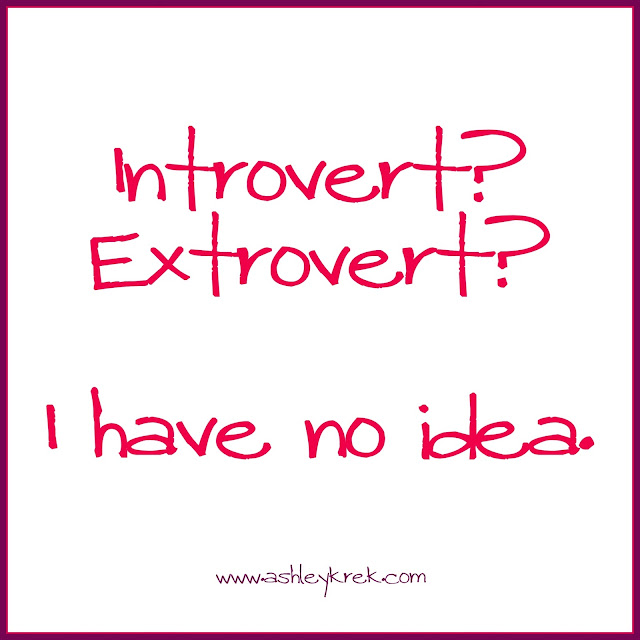 Introvert or Extrovert?