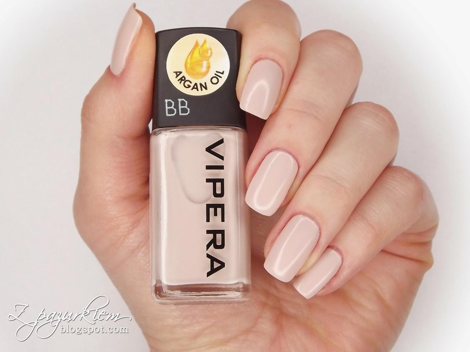 Z Pazurkiem Vipera Cosmetics Bb Nude 16