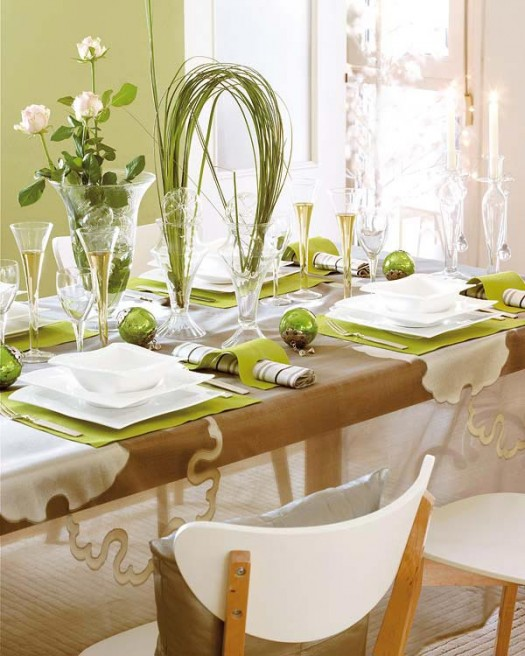 HOLIDAY SPECIAL DINING TABLE DECORATION | Interior design ideas