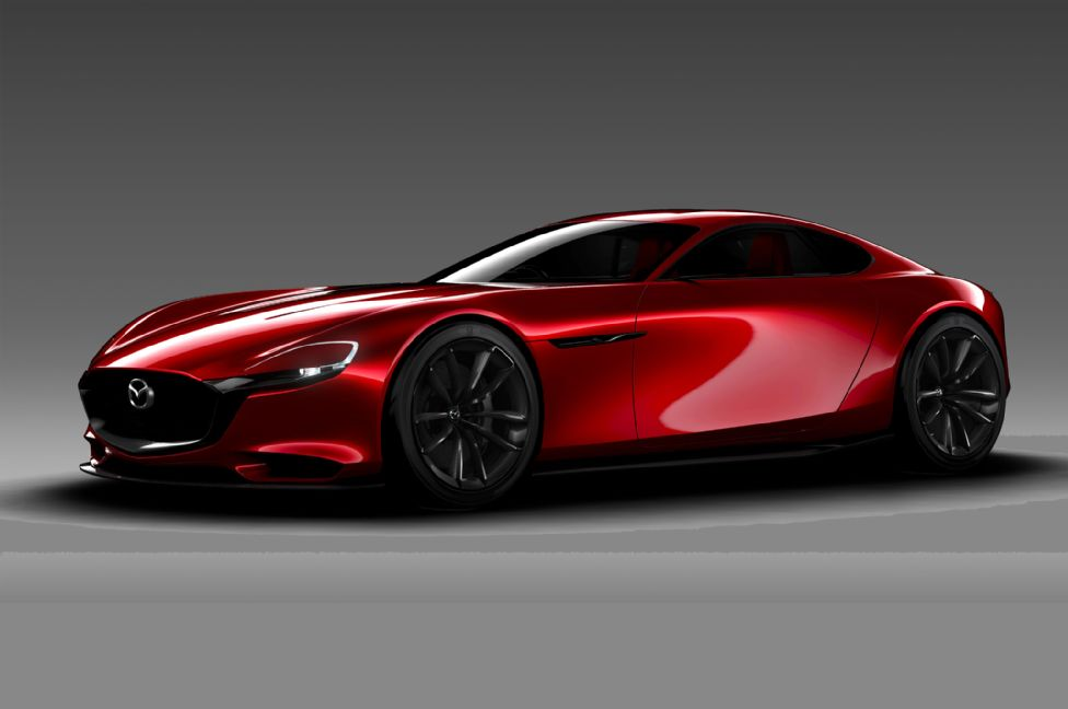 Mazda RX-VISION Concept First Look Photo Gallery
