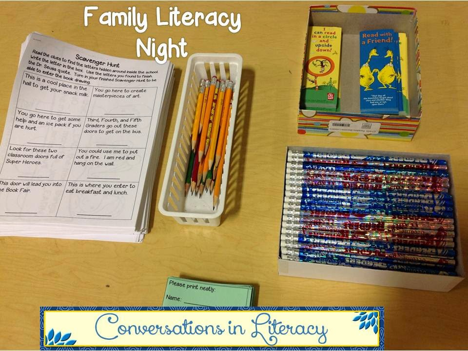 Family Literacy Night Activities
