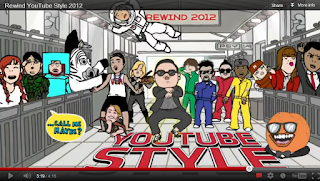 gangnam style, youtube style