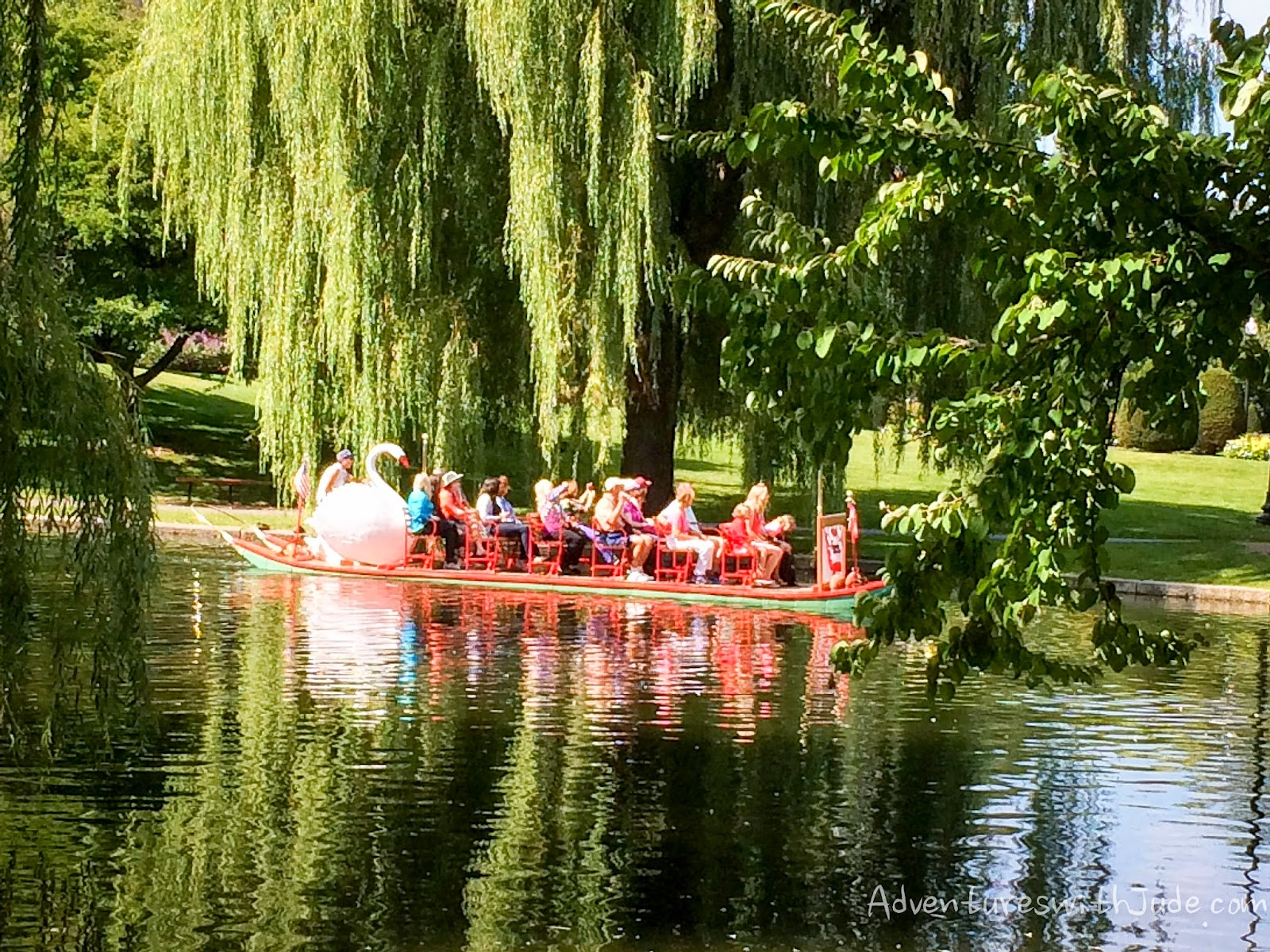 Swan Boat Boston Public Garden