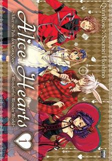 Manga Shoujo Alice Hearts #1 Lançamento que foi publicado no Brasil em Julho de 2015