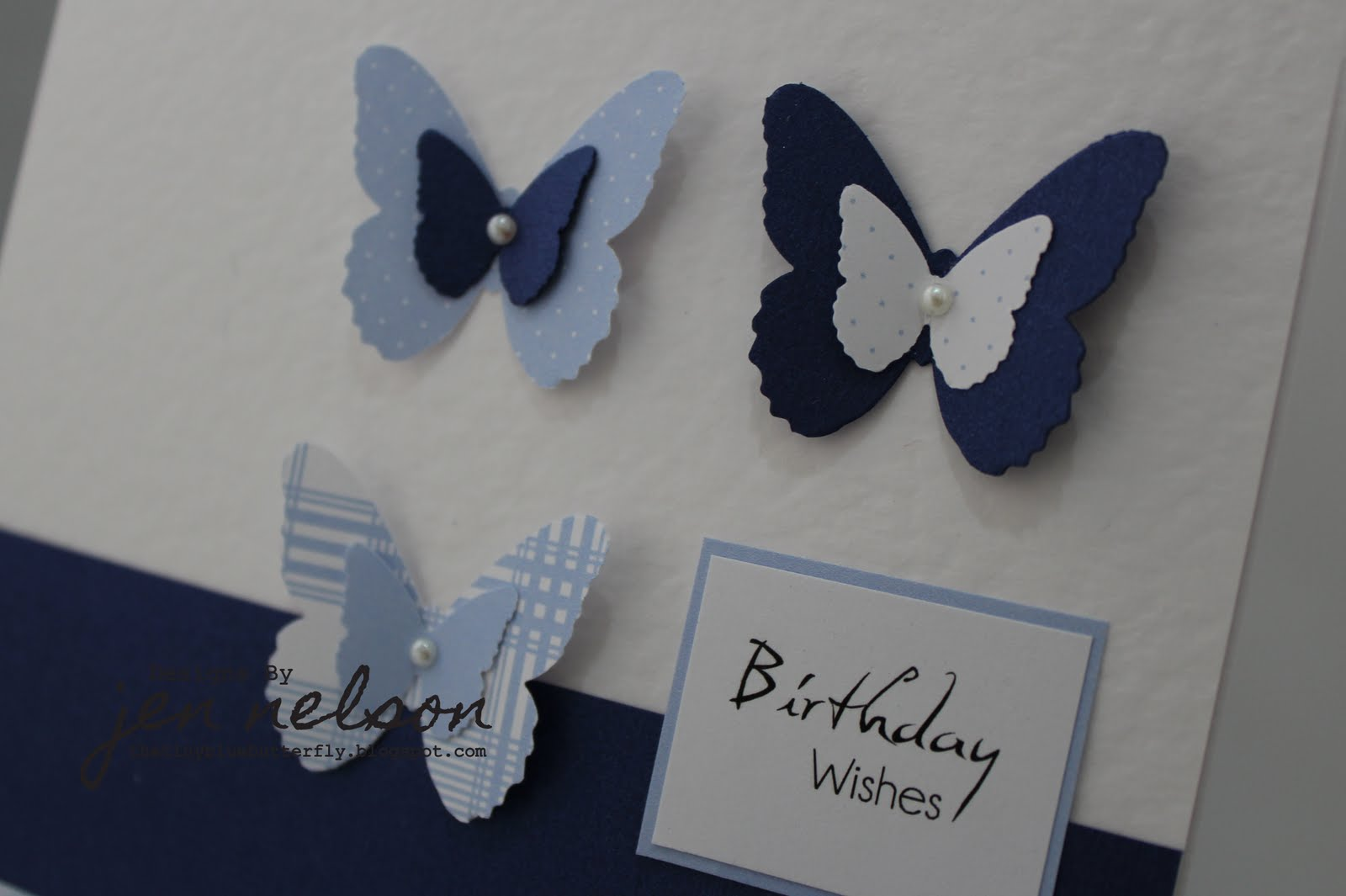 The Tiny Blue Butterfly: Blue Butterfly