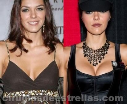 Adrianne Curry antes y después