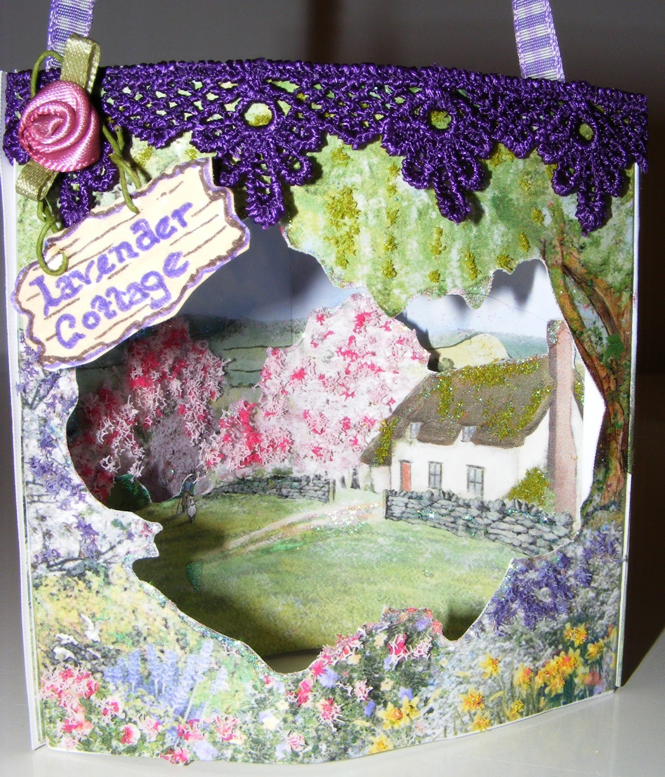 Lavender Cottage: Inspiration Station: Theatre Cards
