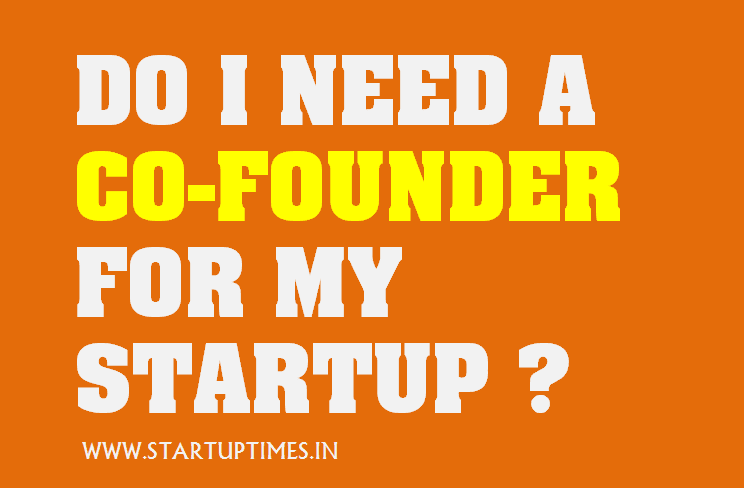Do I need a cofounder for my startup?