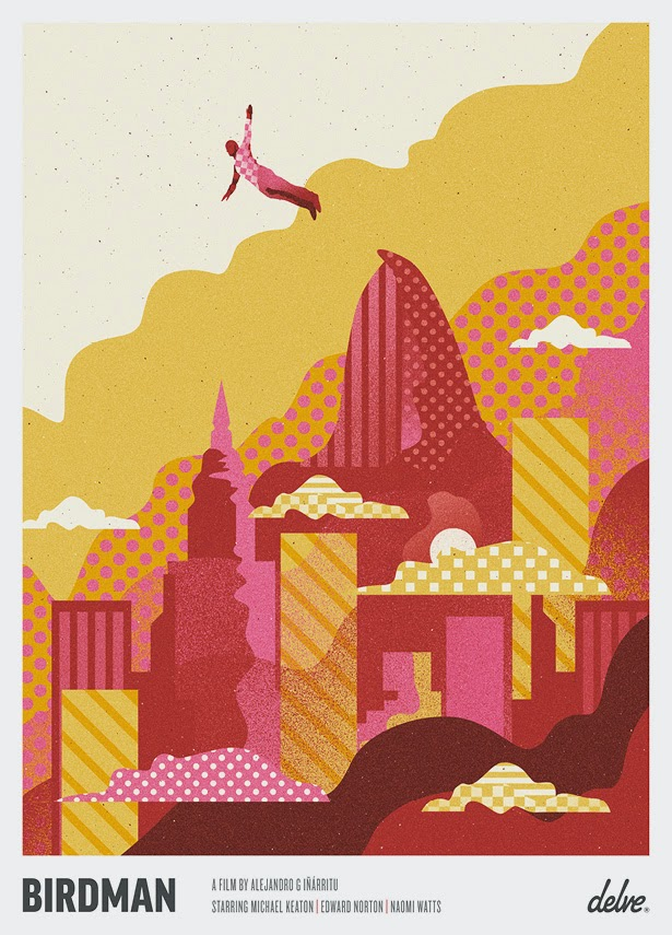Super Punch: Birdman poster by We Buy Your Kids
